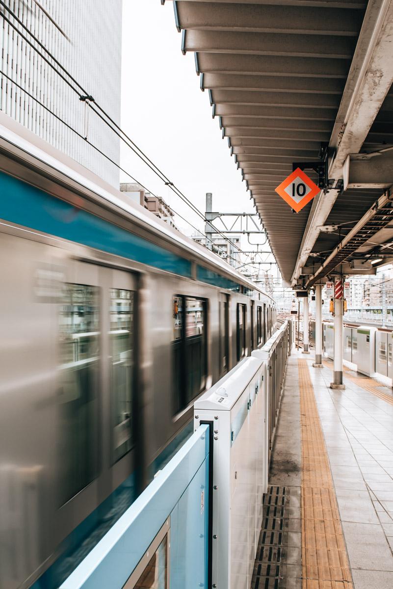 Tokio U Bahn Tipps
