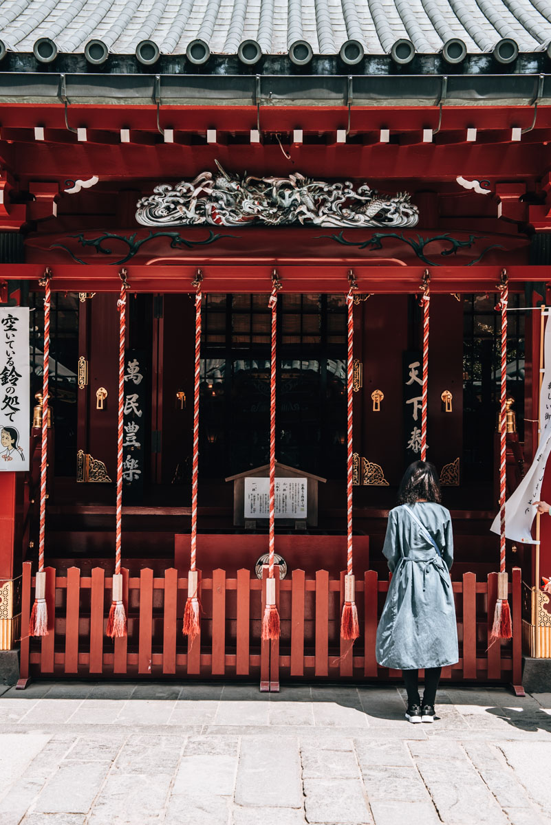 Hakone Shrine Tips