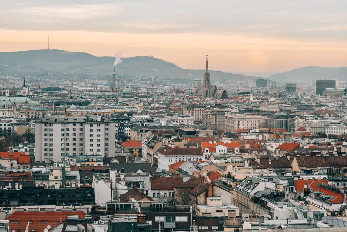 Novotel Wien Ausblick