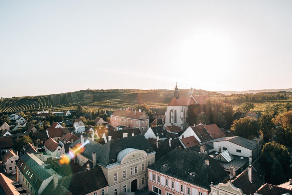 Rathausturm Retz Aussicht