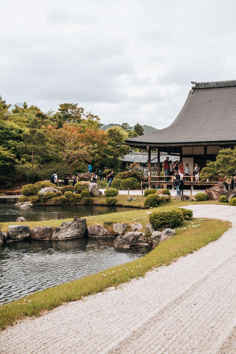 Tenryu ji Tempel