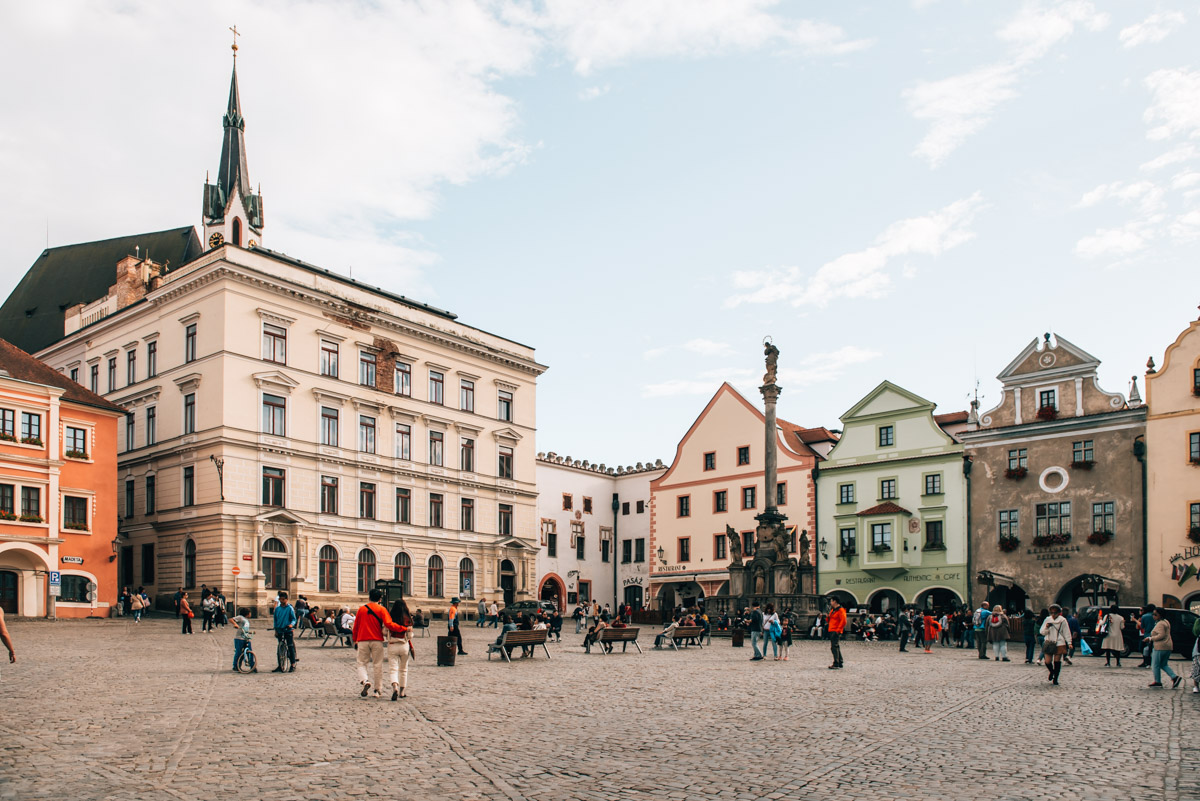 Cesky Krumlov Altstadt