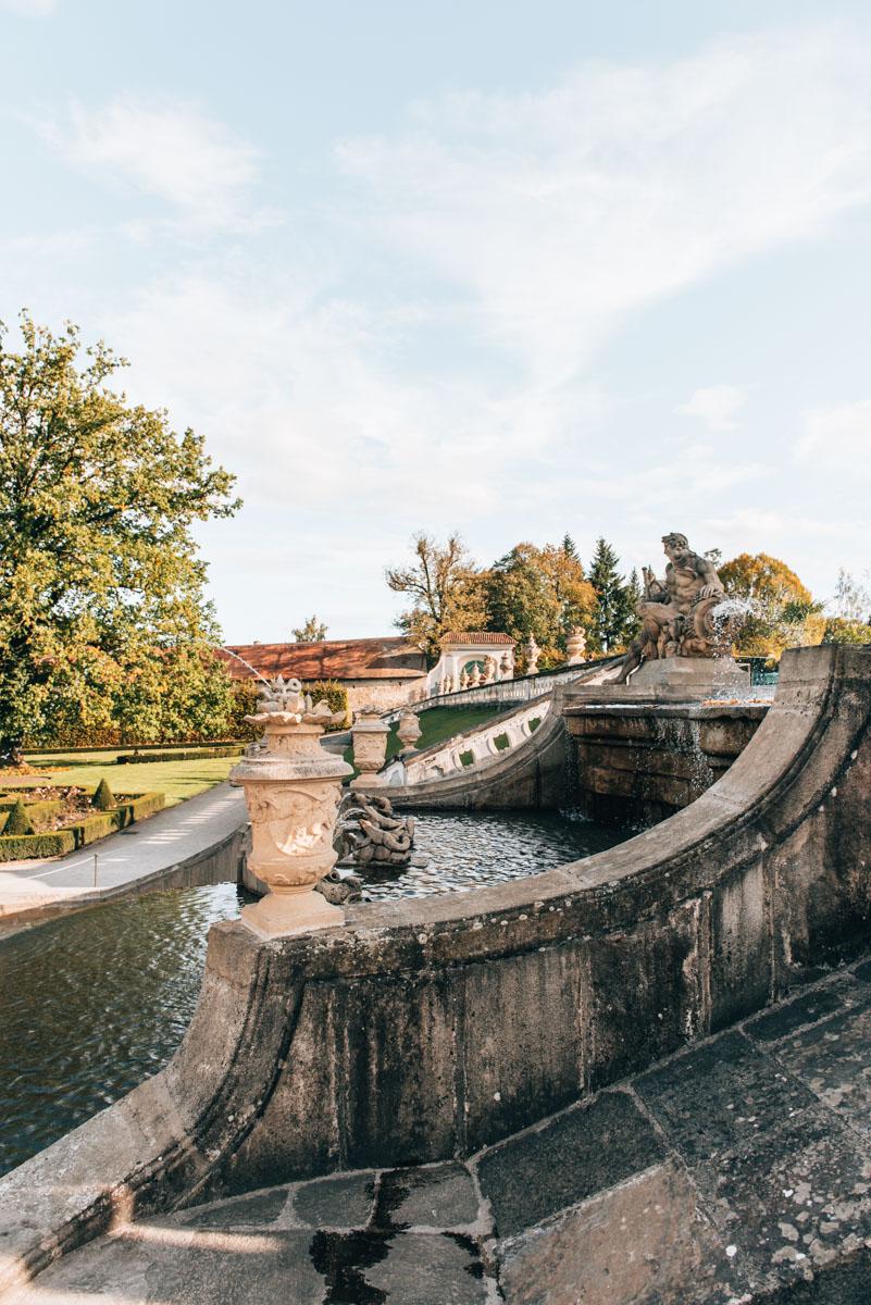 Cesky Krumlov Schlossgarten