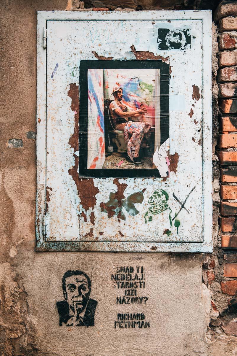 Cesky Krumlov Streetart