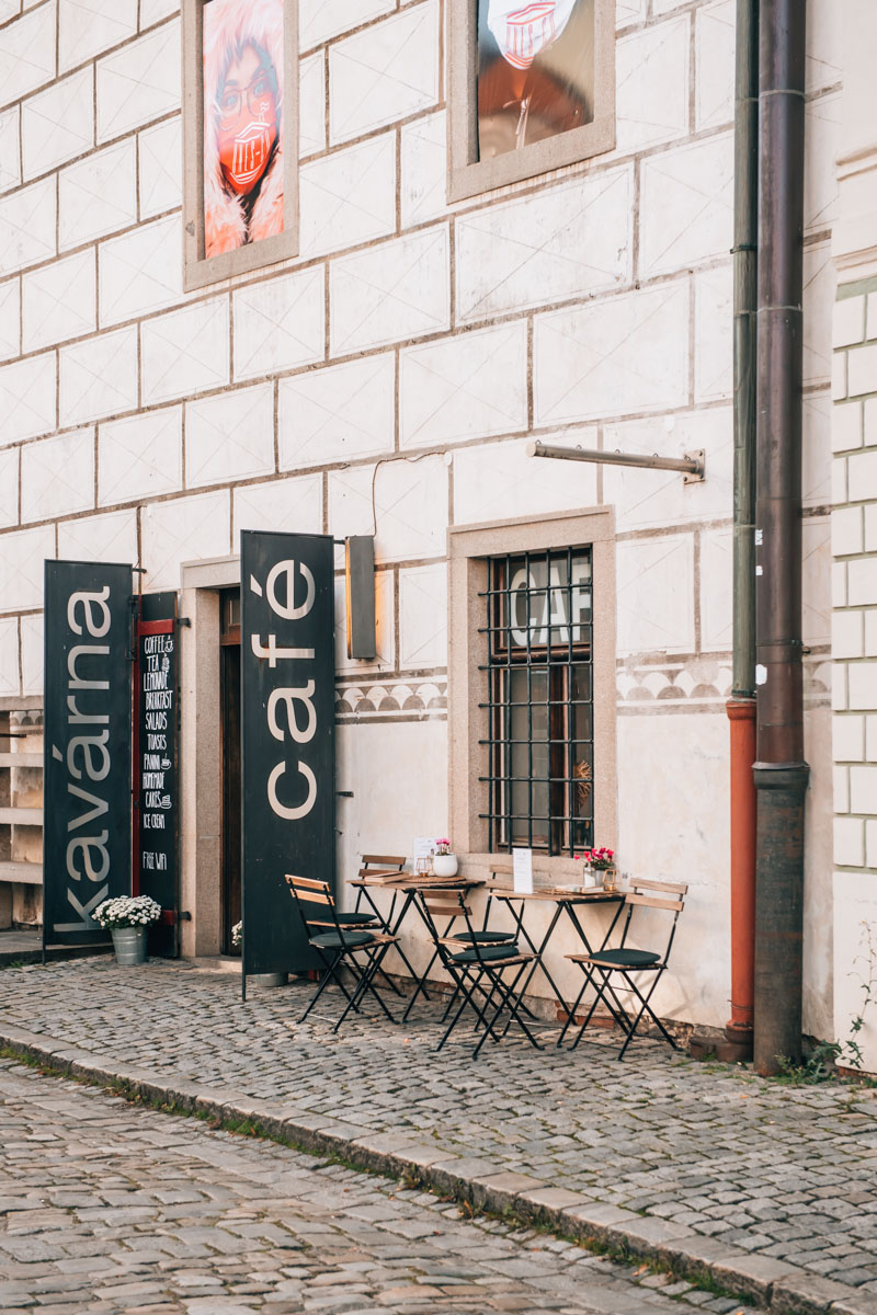 Egon Schiele Cafe Krumlov