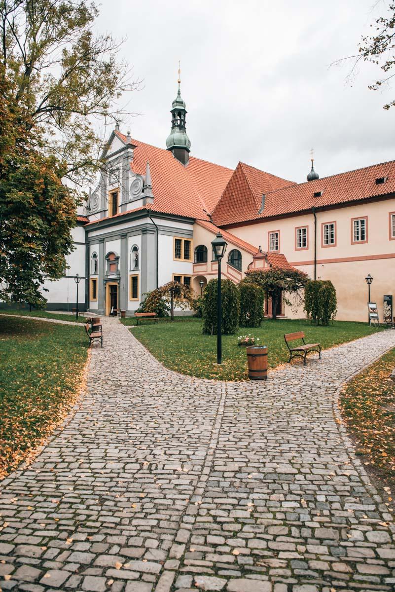 Kloster Krumau Moldau