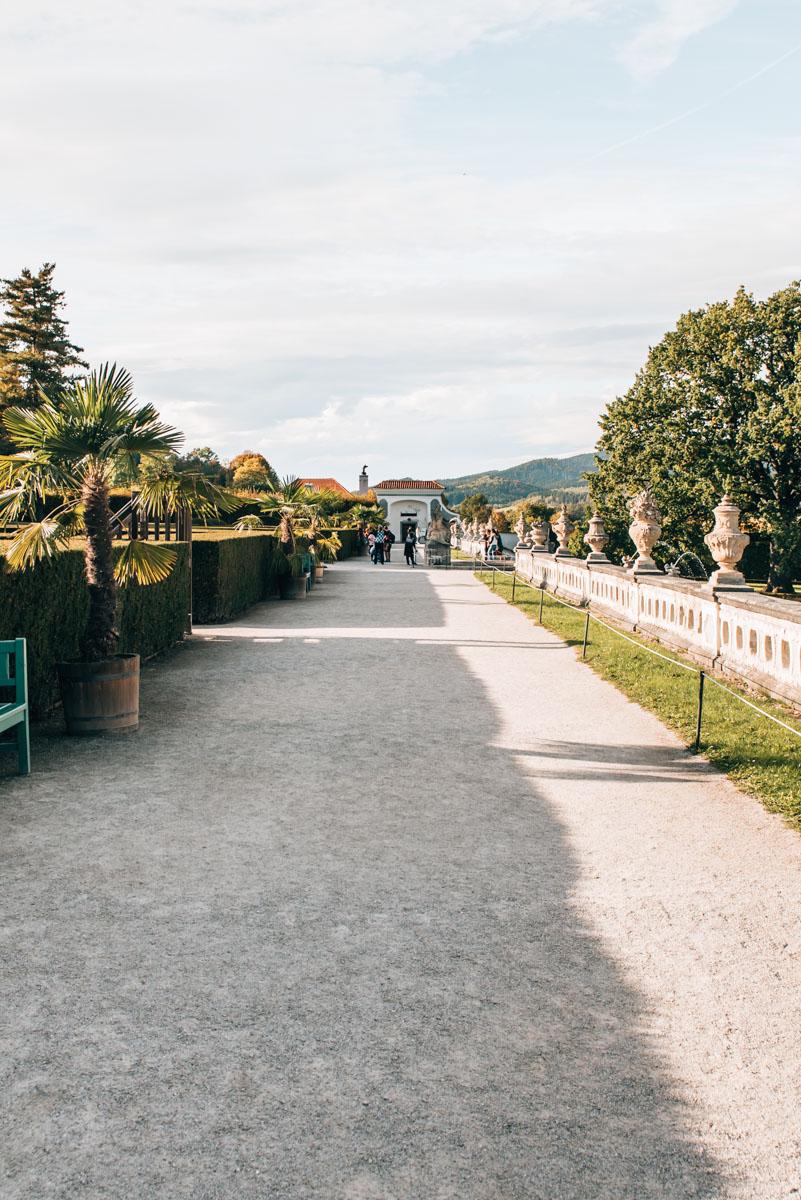 Krumau Schlossgarten Tipps