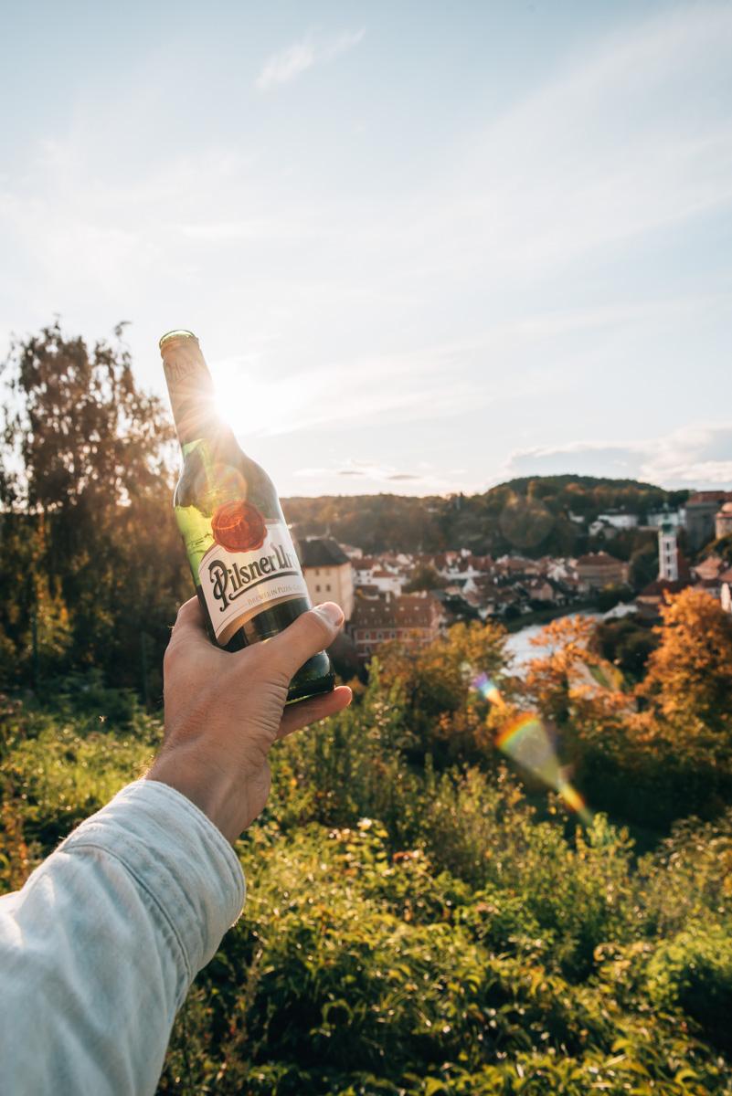 Krumau Sonnenuntergang Tipps