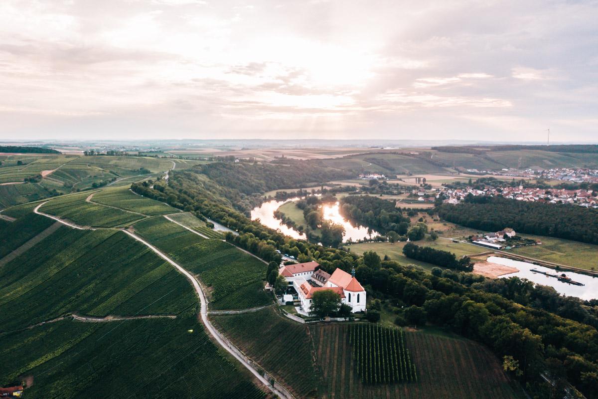 Vogelsburg Drohne