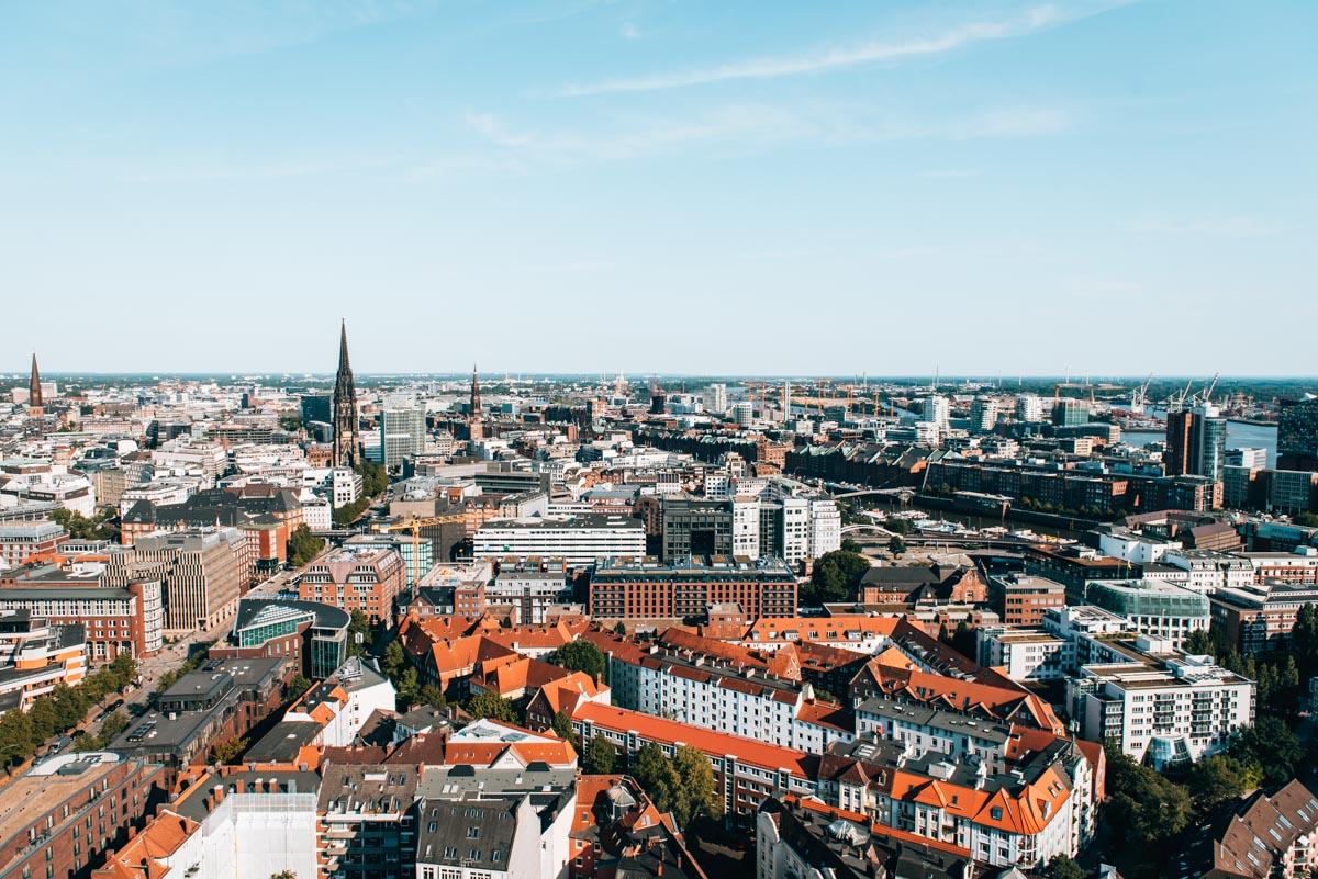 Hamburg Michel View