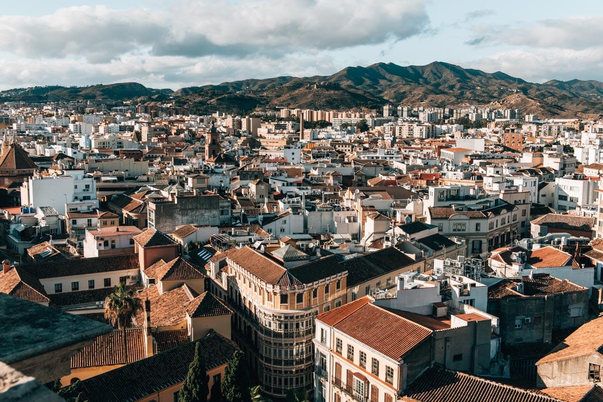 Malaga Kathedrale Aussicht