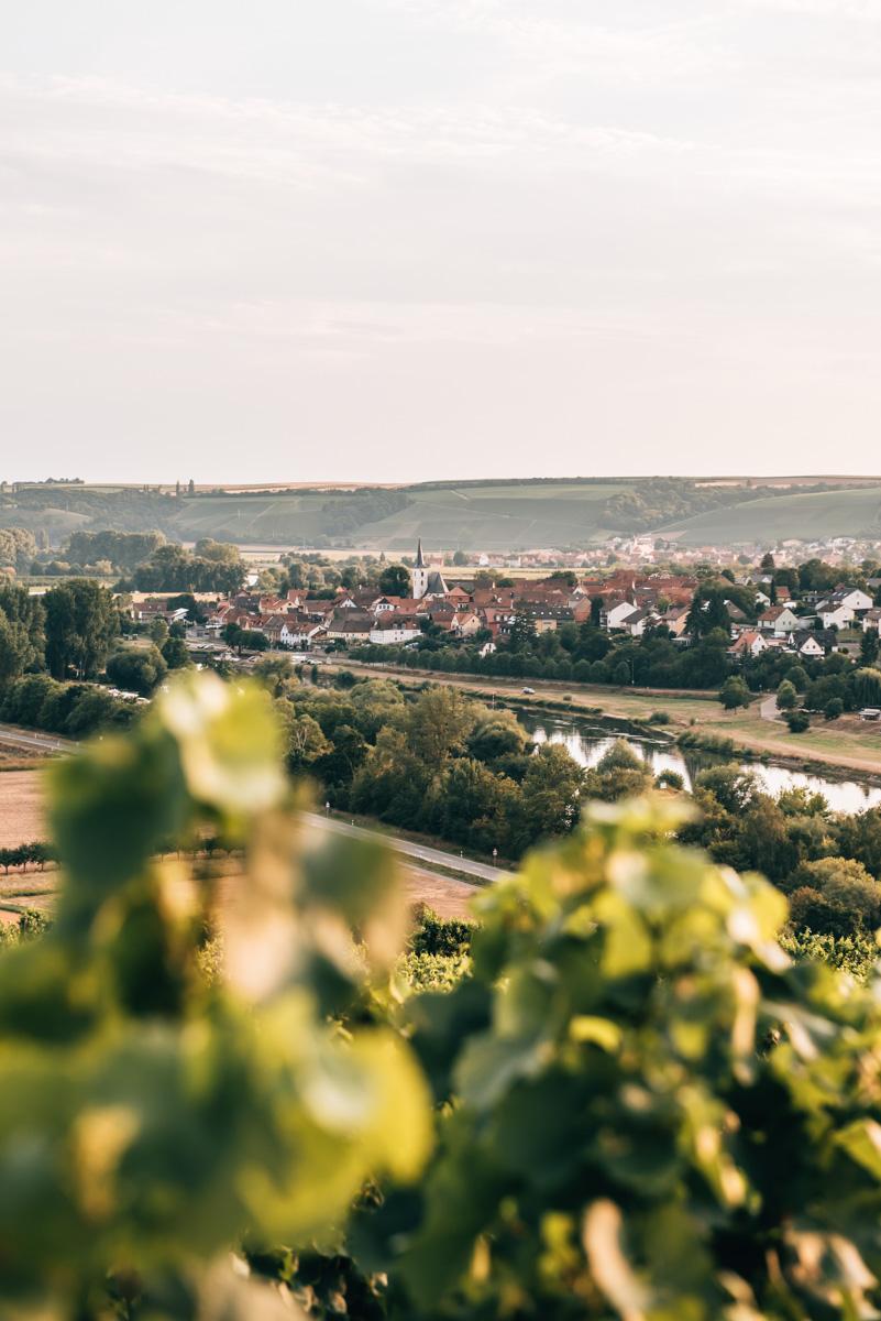 Wanderwege Franken Weinland
