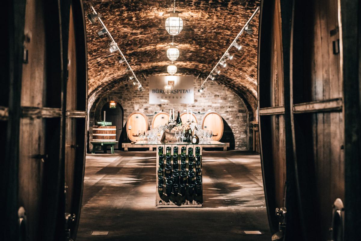 Weingut Bürgerspital Kellerführung