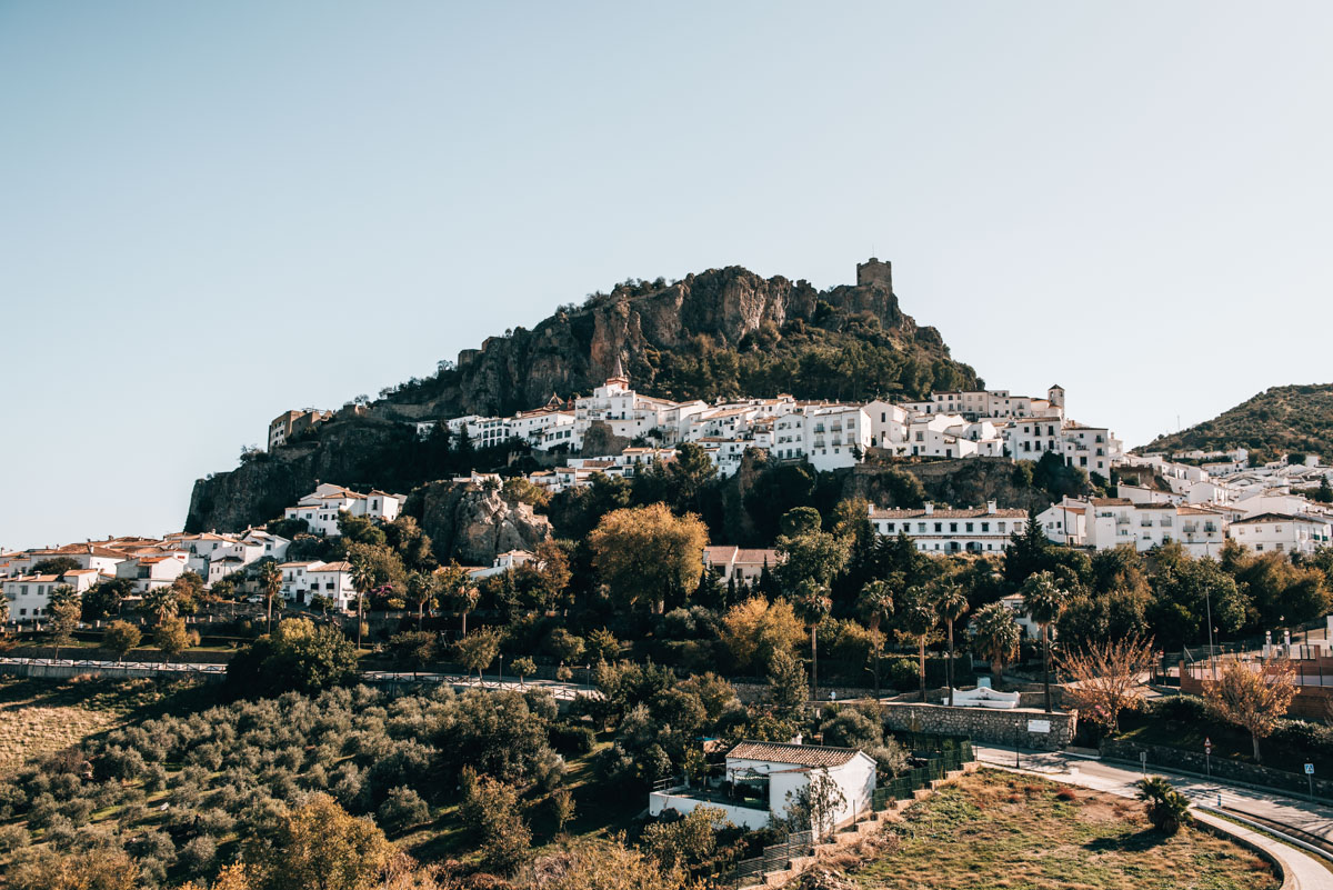 Andalusien weiße Dörfer