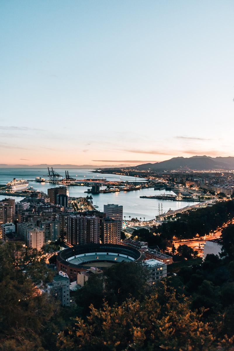 Ausblick Malaga