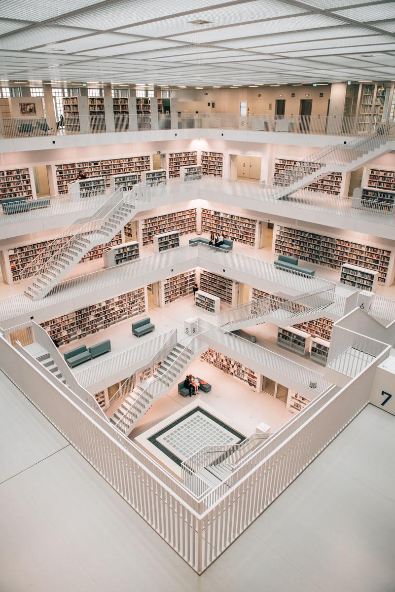 Bibliothek Stuttgart Fotografieren
