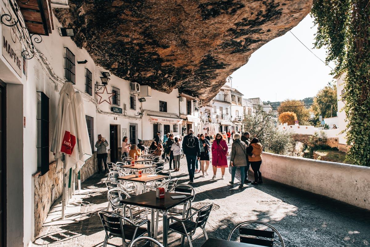 Felsendorf Andalusien