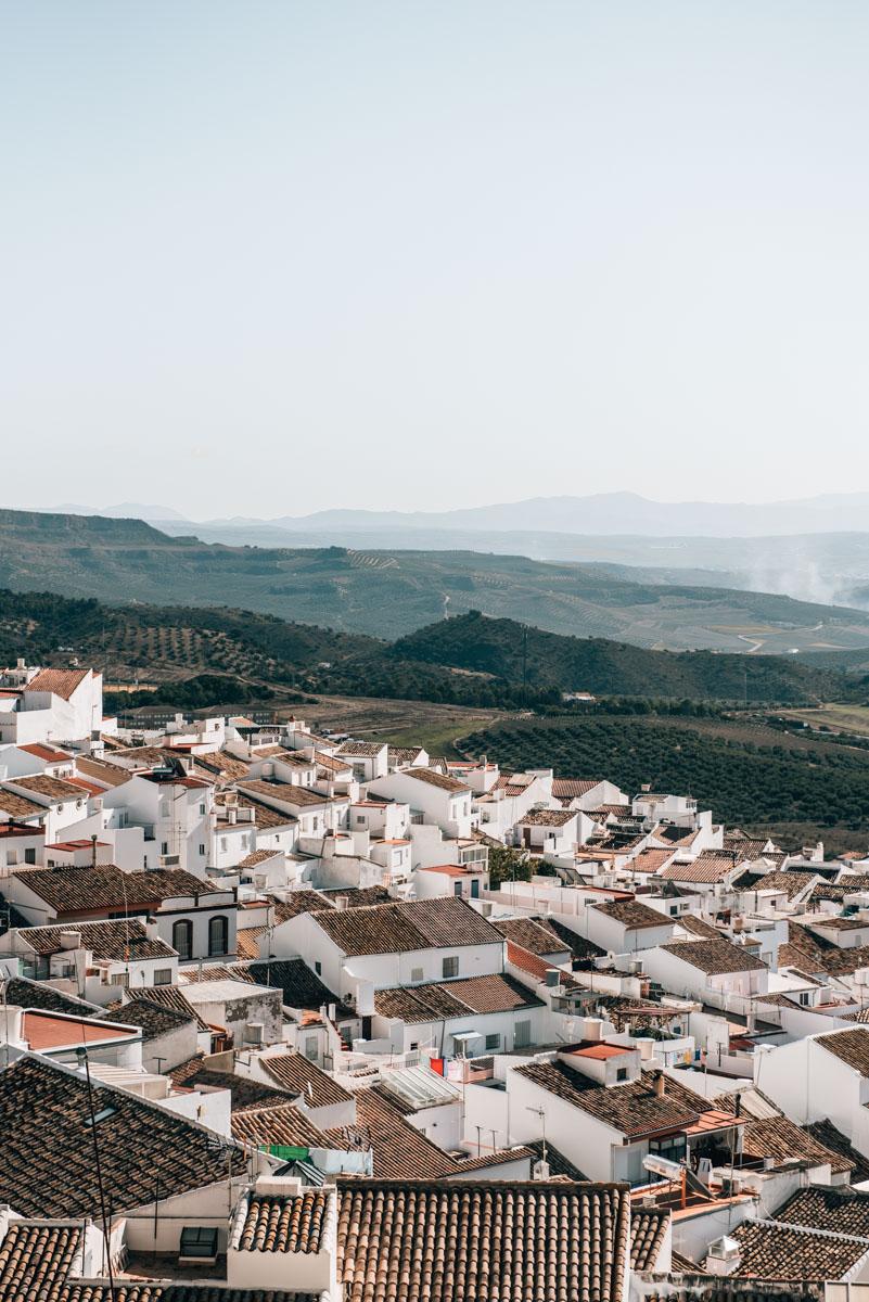 Straße der weißen Dörfer