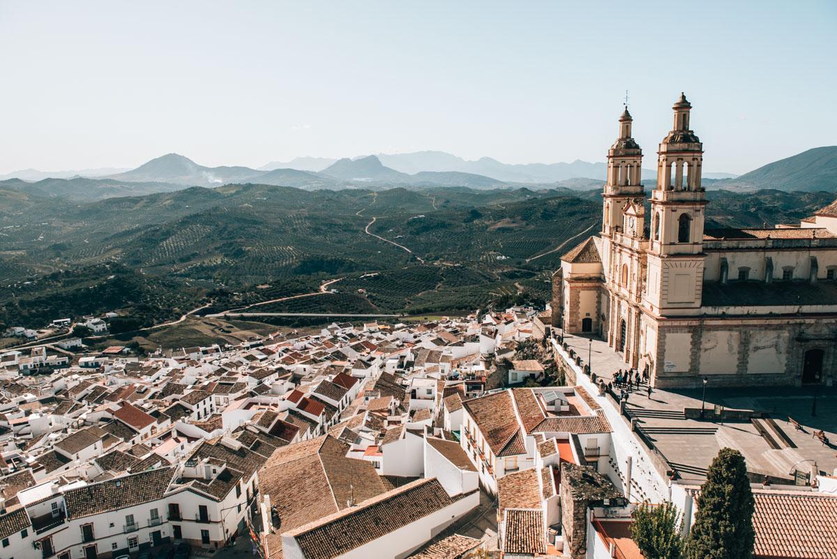 Die Straße der weißen Dörfer in Andalusien - Sommertage