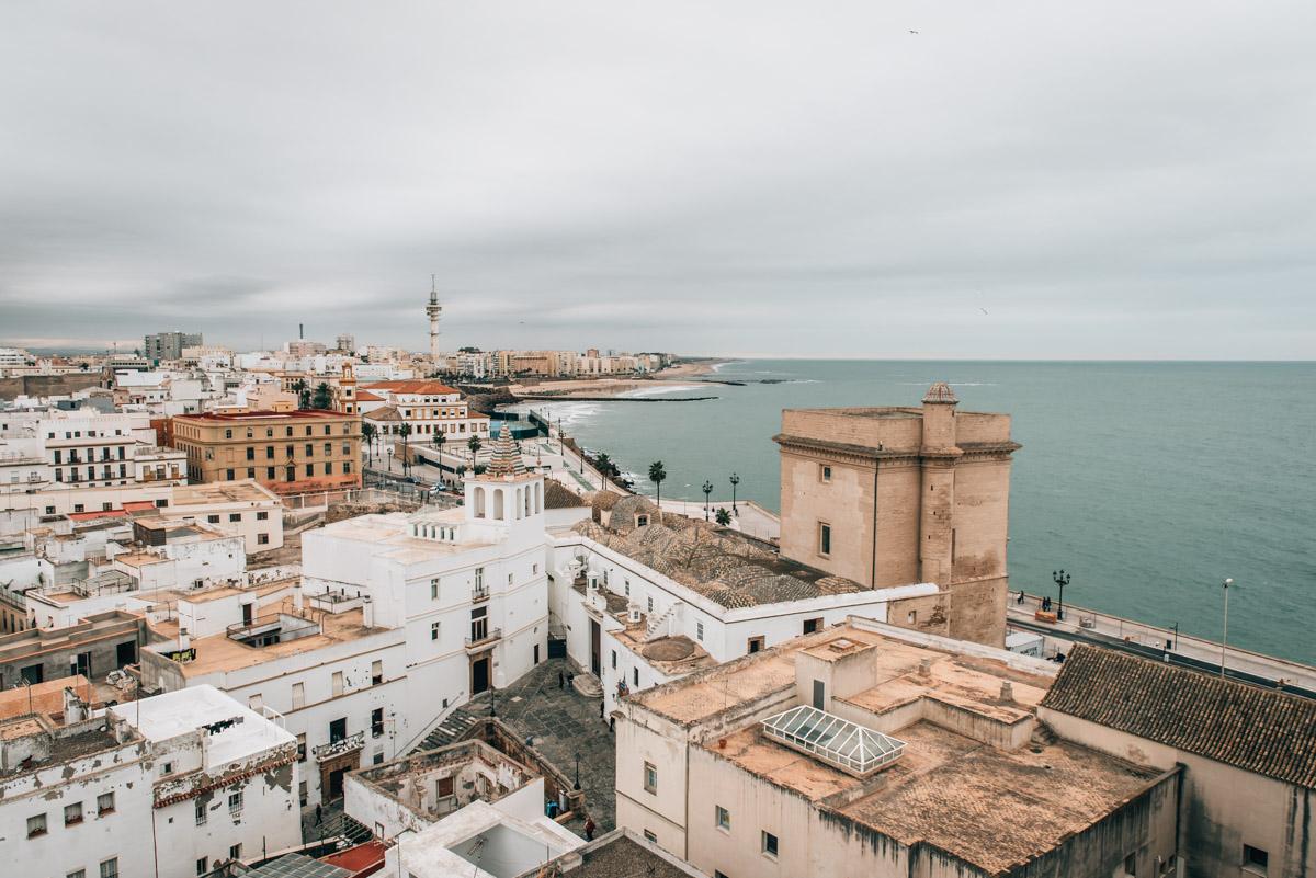 Kathedrale Cadiz Ausblick
