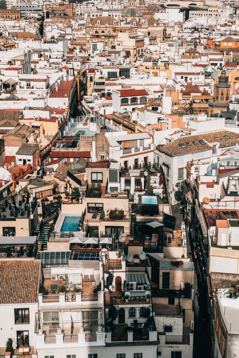 Kathedrale Sevilla Ausblick