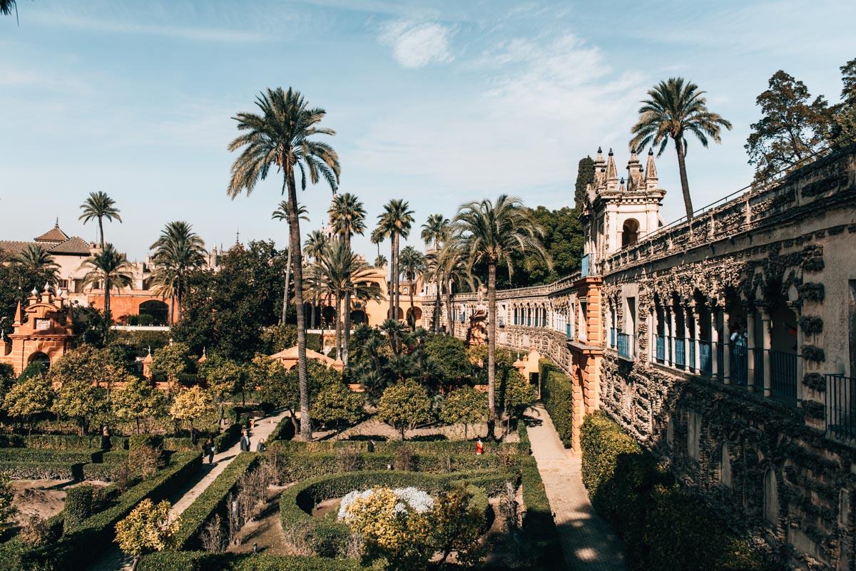 Real Alcazar Garten