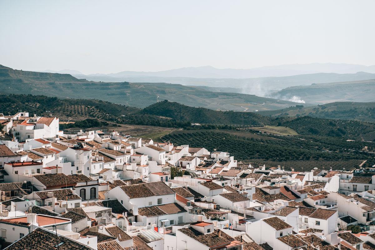 Weiße Dörfer Andalusien