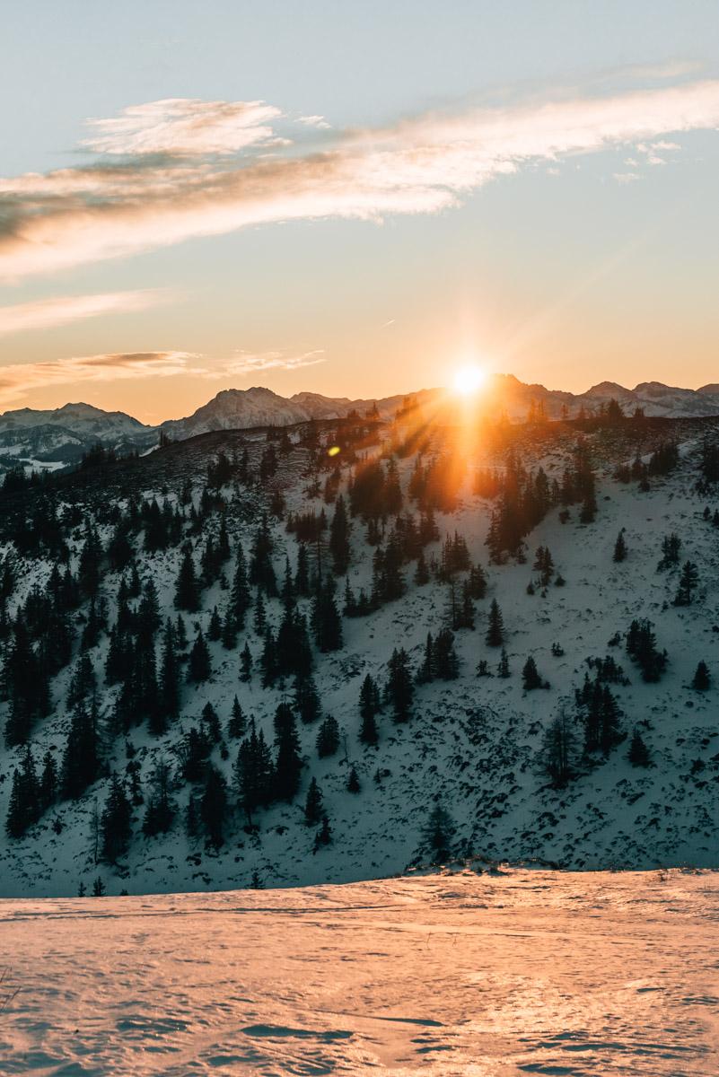 Hochkönig Sonnenaufgang