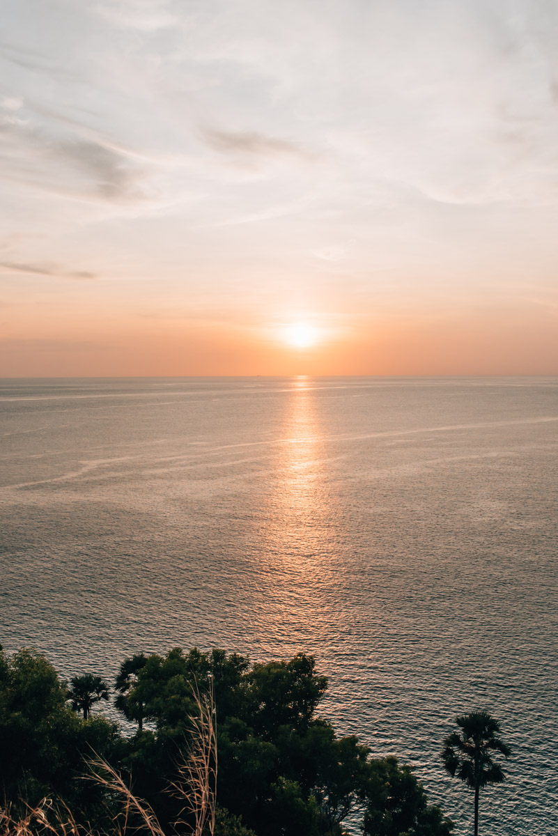 Sonnenuntergang Phuket