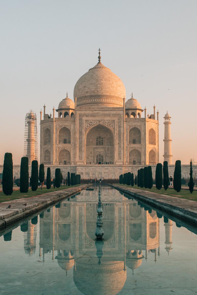 Taj Mahal Sonnenaufgang