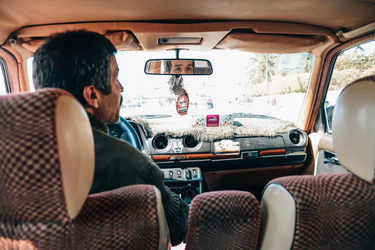 Taxifahren Marrakesch