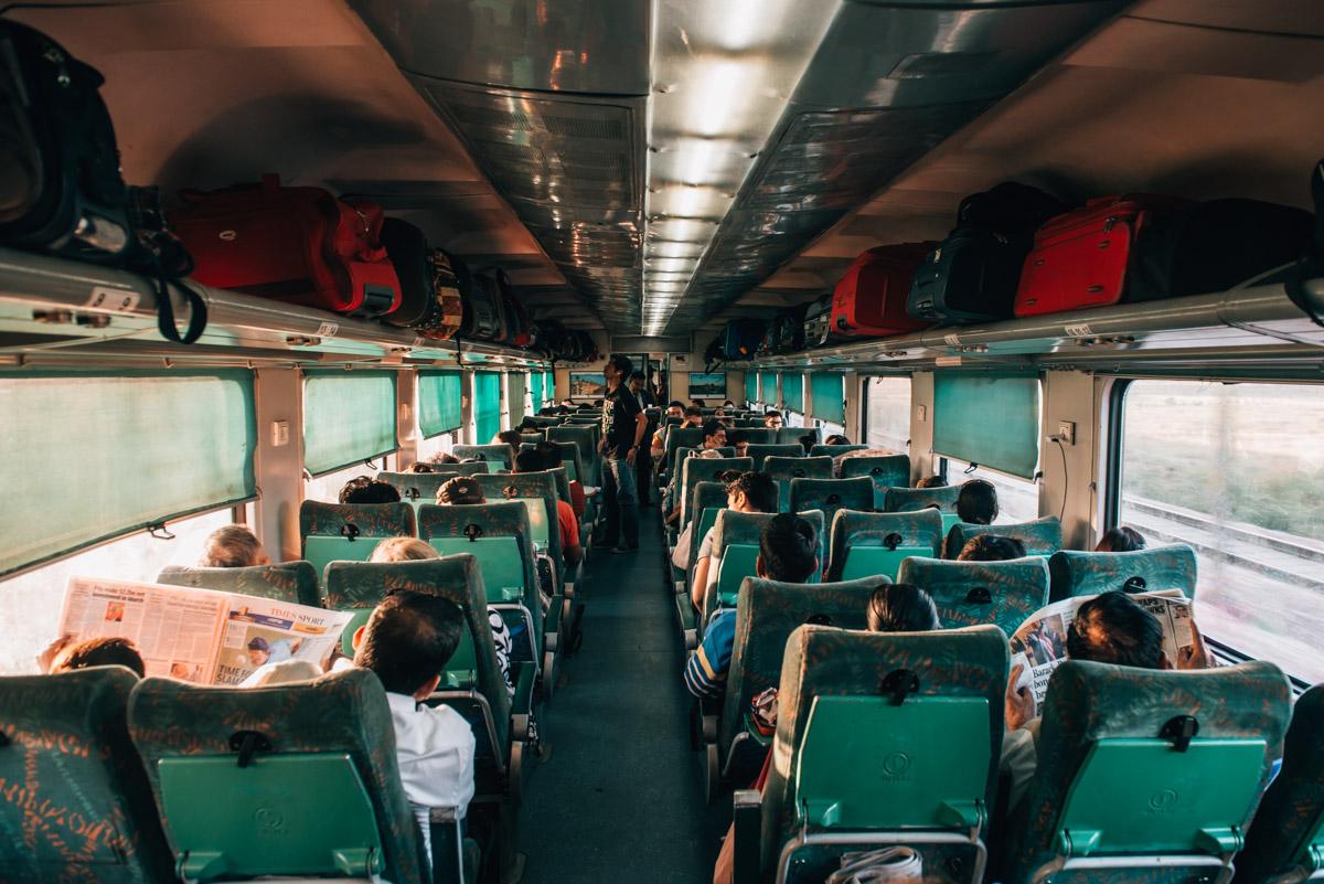 Zugfahren Indien Erfahrungen