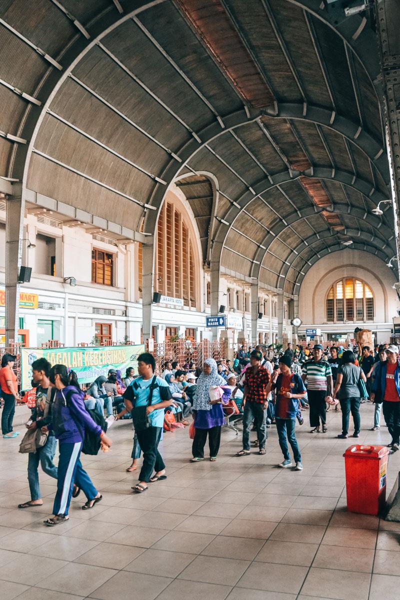 Jakarta Bahnhof