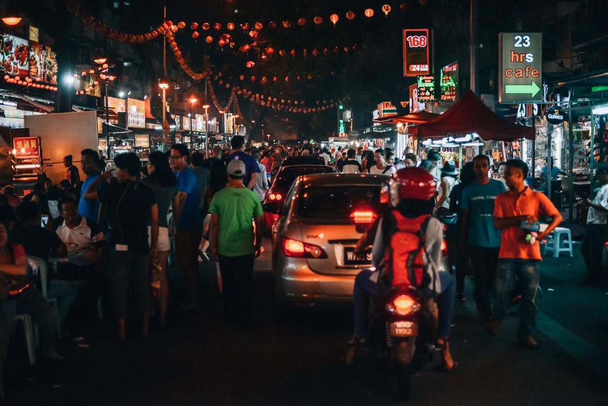 Nachtmarkt Kuala Lumpur