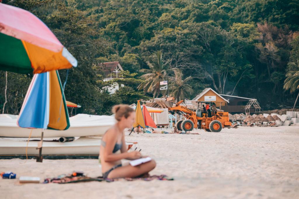 Perhentian Islands Baustelle