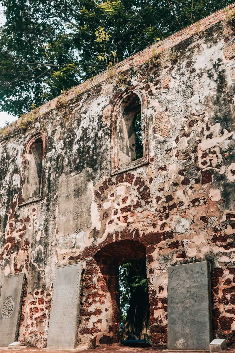 St. Pauls Kirche Melaka