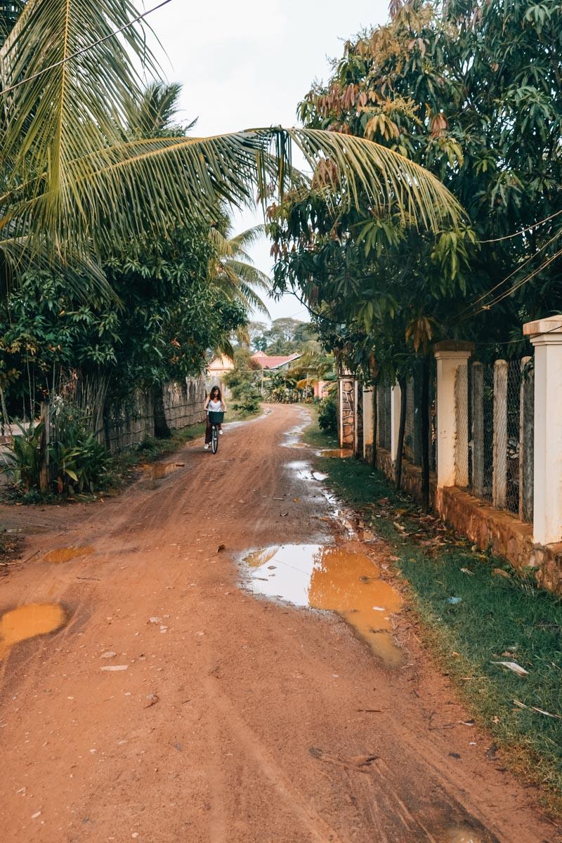 Kampot Radfahren