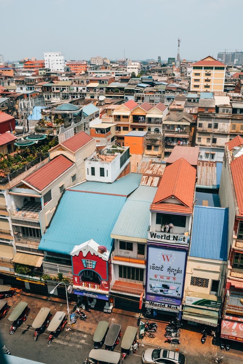 Phnom Penh Aussichtspunkt