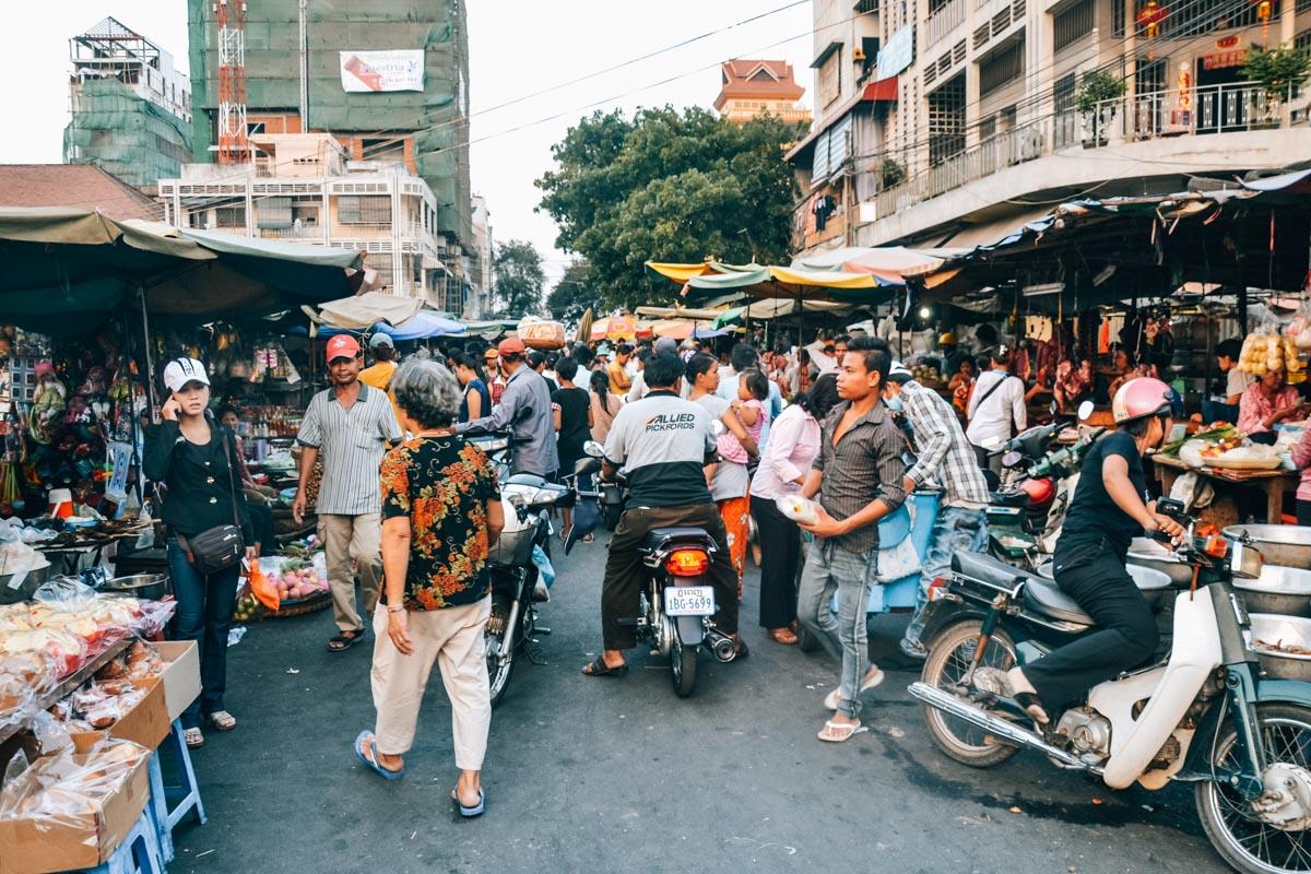 Phnom Penh Markt Tipps