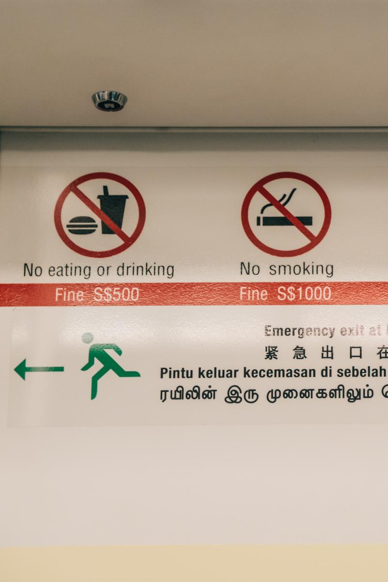 Singapur Verbote