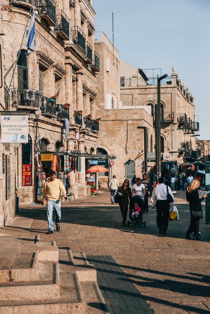 Jerusalem Sicherheit Erfahrungen