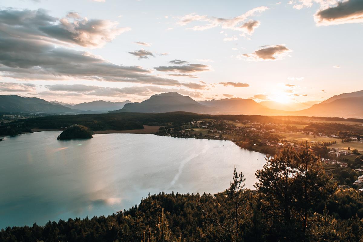 Sonnenuntergang Taborhöhe