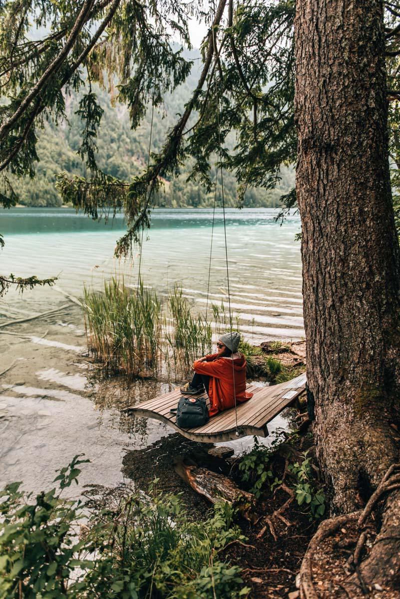 Weissensee Ostufer Wandern
