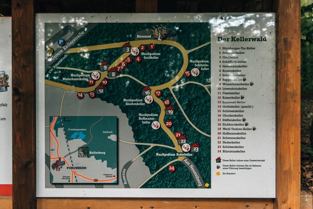 Kellerwald Forchheim Plan