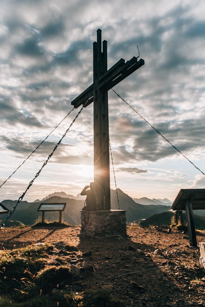 Golzentipp Gipfelkreuz