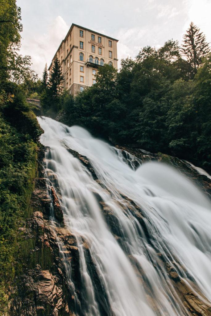 Kraftwerk Bad Gastein Wasserfall