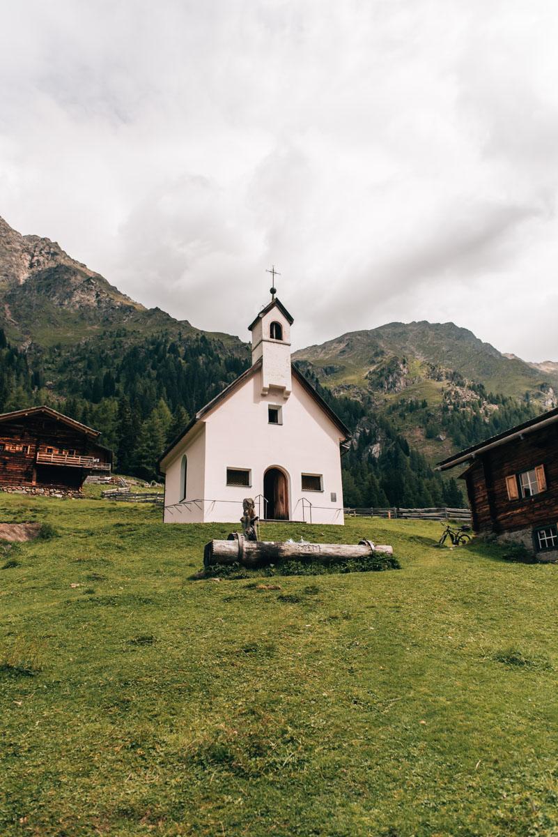 Oberstalleralm Kapelle