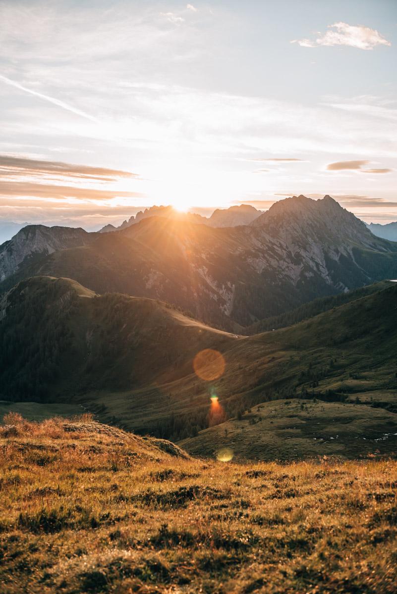 Osttirol Sonnenaufgangswanderung