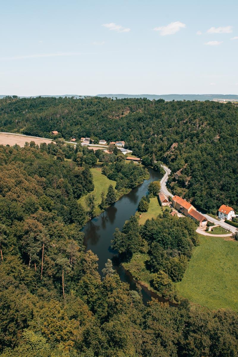 Schloss Rosenburg Ausblick