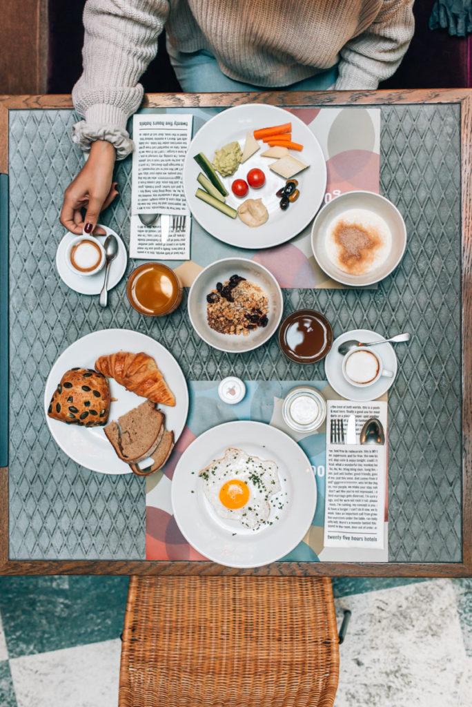 25hours Hotel München Frühstück